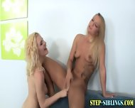 Lezbo Teen Licks Step Sis - scene 4
