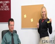 Teacher Drills Schoolgirl - scene 1