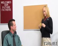 Teacher Drills Schoolgirl - scene 2