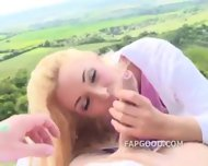 Picnic Blowjob By Victoria Summers - scene 1