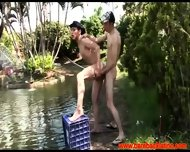 Two Gay Latino Fisher Men Discovering Eachothers Buttholes - scene 9