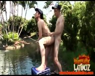 Two Gay Latino Fisher Men Discovering Eachothers Buttholes - scene 12