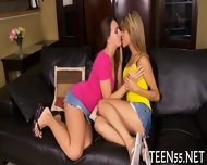 Busty Teen Fucks With Mature Dick - scene 2