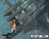 3d Little Mermaid Ariel Getting Fucked Underwater - scene 10
