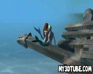 3d Little Mermaid Ariel Getting Fucked Underwater - scene 6