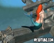 3d Little Mermaid Ariel Getting Fucked Underwater - scene 7
