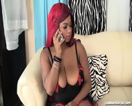 Chocolate Ebony Delights Faith Love And Mirage Lez Out - scene 1
