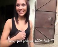 Bianca Pearl Outdoor Kneeling Blowjob - scene 2