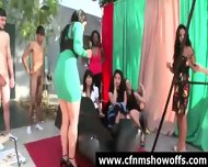 Cfnm Guys In Sex Toy Games With Amateur Girls - scene 8