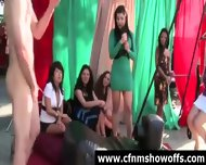 Cfnm Guys In Sex Toy Games With Amateur Girls - scene 9