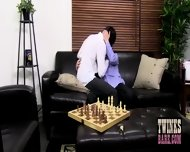 Geeky Twinks Play Chess And Then Fuck Each Other Raw - scene 1