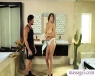 Big Tits Nuru Masseuse Gets Her Pussy Deeply Penetrated - scene 1