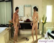 Big Tits Nuru Masseuse Gets Her Pussy Deeply Penetrated - scene 3