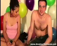Group Of Naked Amateurs Playing Sexy Party Game - scene 11