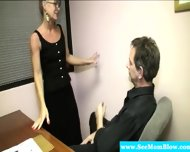 Horny Granny Eagerly Dick Gagging - scene 1