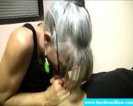 Horny Granny Eagerly Dick Gagging - scene 11