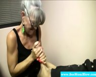 Horny Granny Eagerly Dick Gagging - scene 12