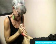 Horny Granny Eagerly Dick Gagging - scene 12