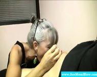Horny Granny Eagerly Dick Gagging - scene 4