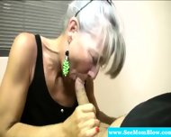 Horny Granny Eagerly Dick Gagging - scene 5