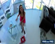 Beautiful Dillion Harper Eats Strawberries And Teases In Front Of Bf - scene 1