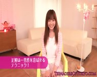 Beautiful Japanese Teen Dressed As A Maid - scene 1