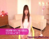 Beautiful Japanese Teen Dressed As A Maid - scene 2