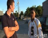 Muscle Black Gay Fucked - scene 10