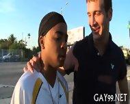 Muscle Black Gay Fucked - scene 11