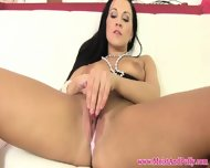 Beautiful Mature Babe Uses A Straw To Please Her Clitoris - scene 7