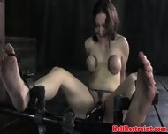 A Poor Kidnapped Woman Gets Her Big Boobs Tied By Her Master - scene 7