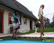 Aclassy Ladies In Mad Wetlook Fetish - scene 8