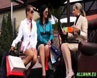 Aclassy Ladies In Mad Wetlook Fetish - scene 2