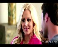 Seductive Blonde Milf Plays With Her Sons Best Friend - scene 1