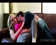 Seductive Blonde Milf Plays With Her Sons Best Friend - scene 7