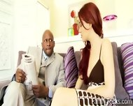 Spoiled Redhead Hottie Is Happy With Her New Black Daddy - scene 3