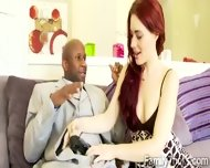 Spoiled Redhead Hottie Is Happy With Her New Black Daddy - scene 7