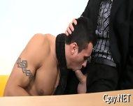 Lubricous Blowjob For Gay Stud - scene 8