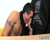Lubricous Blowjob For Gay Stud - scene 7