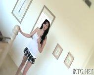 Girl Playing In Shower - scene 5