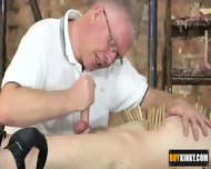 Cameron Is Being Wanked And Sucked By The Master - scene 11