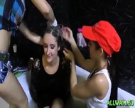 Kinky Fully Cothed Bath Orgy - scene 10