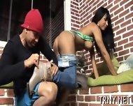 Beautiful Tranny Enjoys Sex - scene 5
