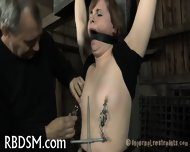 Boxed Up Beauty Is Tortured - scene 8