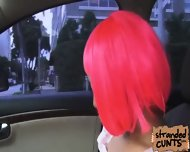 Natalie Monroe A Cosplayer Gat Fucked In The Car While Being Recorded By Dudes Cam - scene 2