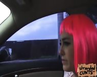 Natalie Monroe A Cosplayer Gat Fucked In The Car While Being Recorded By Dudes Cam - scene 3