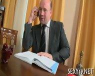 Delightful Anal Sex With Teacher - scene 1