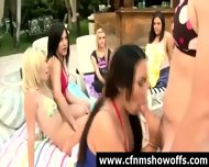 Naughty Cfnm Chicks Use Guys For Sex Outdoors - scene 11