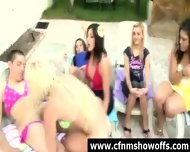 Naughty Cfnm Chicks Use Guys For Sex Outdoors - scene 2