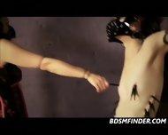 Dominating Her Lesbian Masked Slave - scene 7